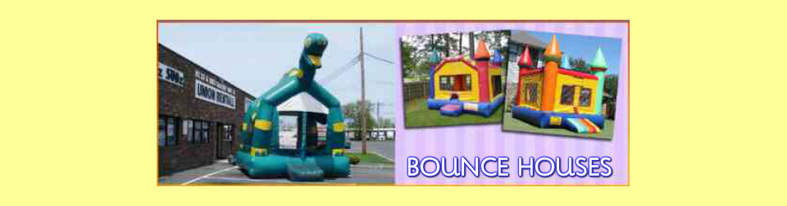 bounce house inlatables table chair rentals