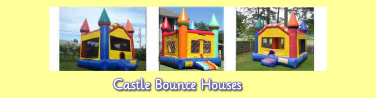 castle bounce house inflatables and party rentals page